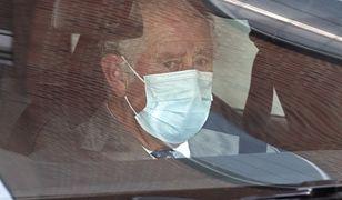 Książę Filip nadal w szpitalu. Karol nie ukrywał wzruszenia po wizycie