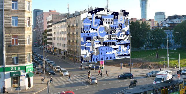 """""""Pokazuje energię"""". Nowy mural na Woli"""