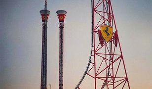 Ferrari Land - park z najwyższym i najszybszym rollercoasterem w Europie