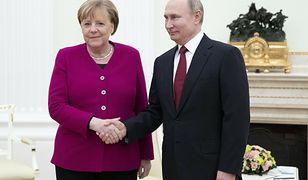 Angela Merkel spotka się z Putinem. Data jest symboliczna