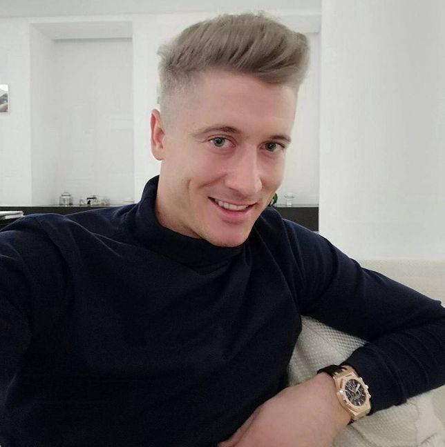 Nowa fryzura Roberta Lewadowskiego podzieliła fanów.