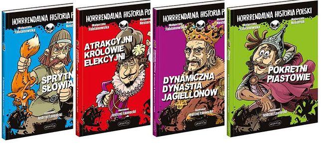 Horrendalna Historia Polski, Egmont, 2020