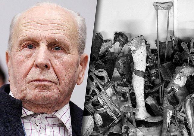 Stefan Lipniak jest jednym z ocalałych z obozu koncentracyjnego Auschwitz-Birkenau