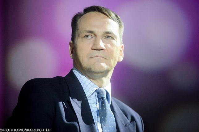 Radosław Sikorski krytycznie ocenia politykę PiS