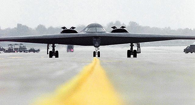 Najdroższy bombowiec świata pojawił się w Europie