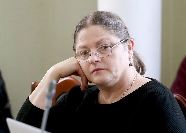 Krystyna Pawłowicz jest przeciwniczką reformy szkolnictwa wyższego