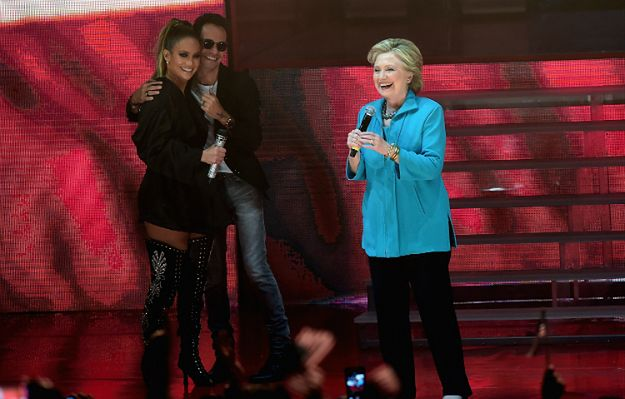 Kto z celebrytów popiera Hillary Cliton, a kto zagłosuje na Donalda Trumpa?