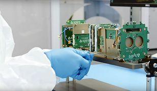 Brytyjczycy wysłali w kosmos cztery nanosatelity