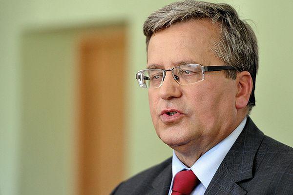 Prezydent Komorowski rozmawiał z Wiktorem Janukowyczem