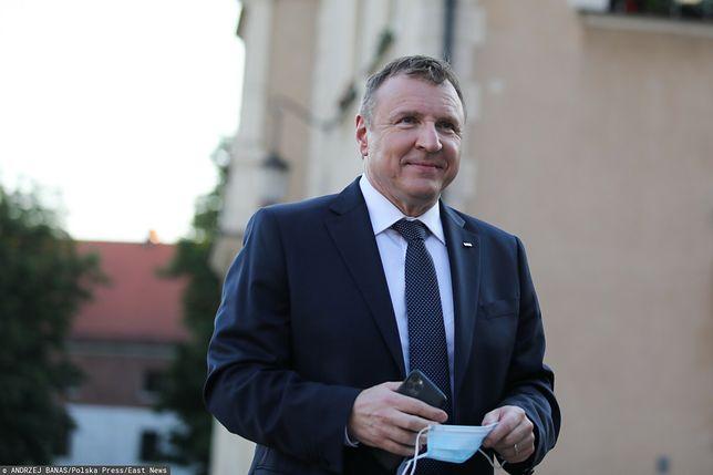 Jacek Kurski ochrzcił swoją córkę na Jasnej Górze