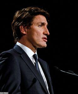 Kanada. Justin Trudeau obrzucony kamieniami