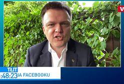 """Szymon Hołownia o telefonach z TVN. """"Odcięli się ode mnie"""""""