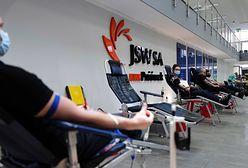 Śląsk. Pracownicy JSW oddali krew i osocze