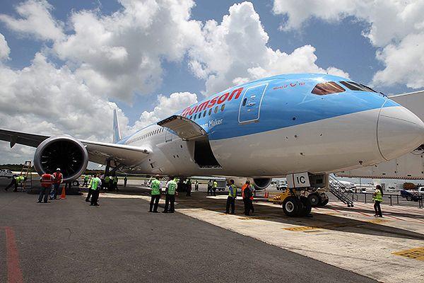 Dreamliner musiał zawrócić z trasy z powodu problemów technicznych