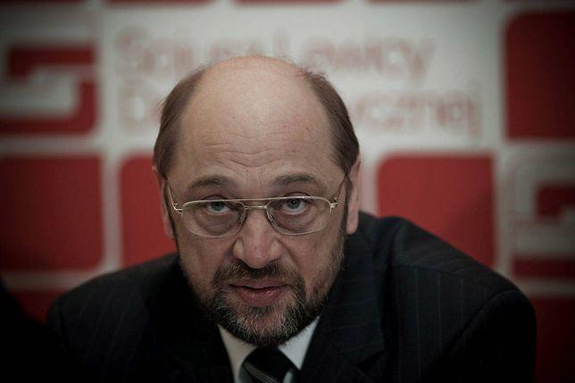 """Schulz krytykuje Polskę. """"Tak dłużej być nie może"""""""