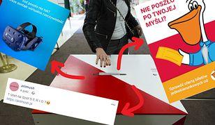 Reklamy w reakcji na wybory parlamentarne 2019 - bilety w jedną stronę i wirtualna rzeczywistość