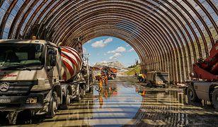 Tunel na Zakopiance. Niezwykłe zdjęcia z budowy