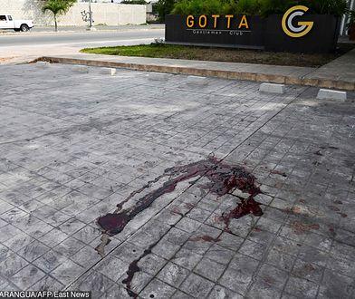 Playa del Carmen. Zdjęcie z miejsca zabójstwa meksykańskiego dziennikarza Franciso Romero