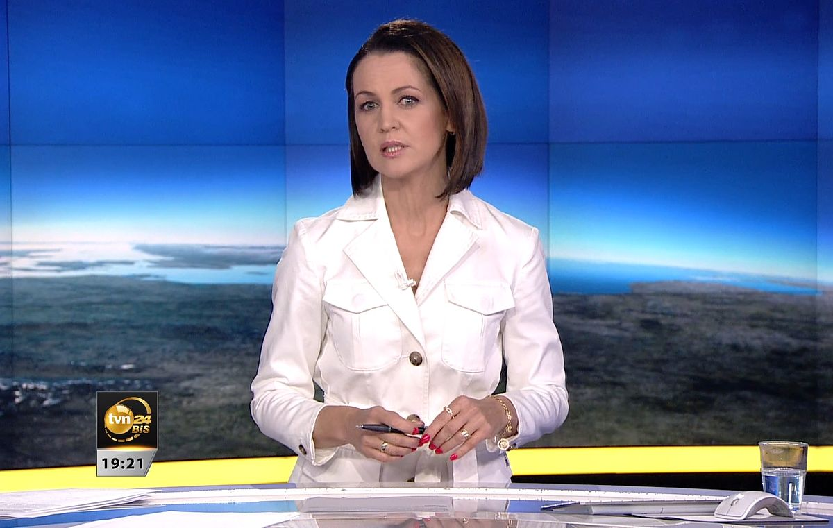 """Diana Rudnik w """"Faktach"""" przypomniała o sytuacji stacji TVN24"""