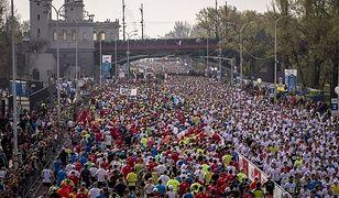 Ruszył Orlen Warsaw Marathon. Ogromne utrudnienia w ruchu