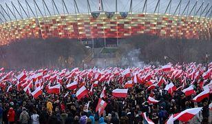 Marsz Niepodległości już zakończony. Trwa jeszcze koncert na błoniach PGE Narodowego