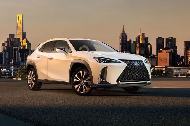 Lexus pokazał pierwsze zdjęcie modelu UX. Będzie to najmniejszy SUV japońskiej marki