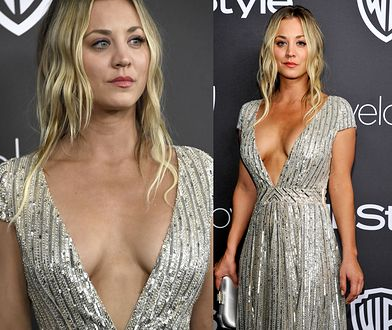 Kaley Cuoco: co za dekolt!