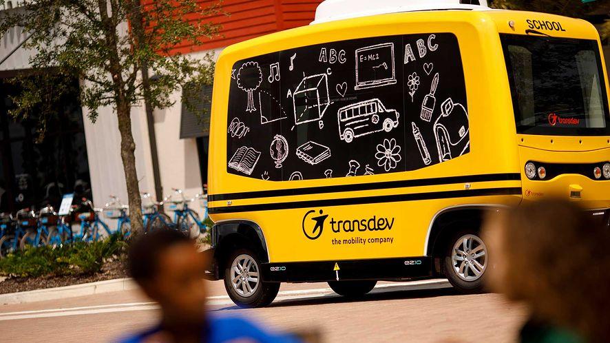 Pojazd autonomiczny jako autobus szkolny? Zdaniem NHTSA jest na to zdecydowanie za wcześnie! (fot. materiały prasowe)