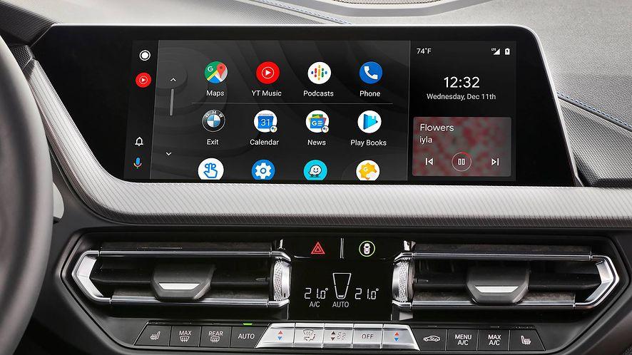 Android Auto ma problem z aktualizacjami, fot. materiały prasowe BMW