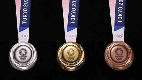 Tokio 2020: Zobacz medale olimpijskie, które były smartfonami
