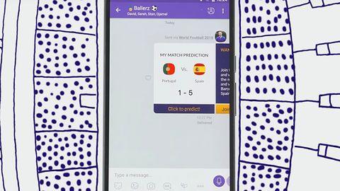 Rozmowa o meczu tylko przez Vibera – komunikator pozwala obstawiać wyniki
