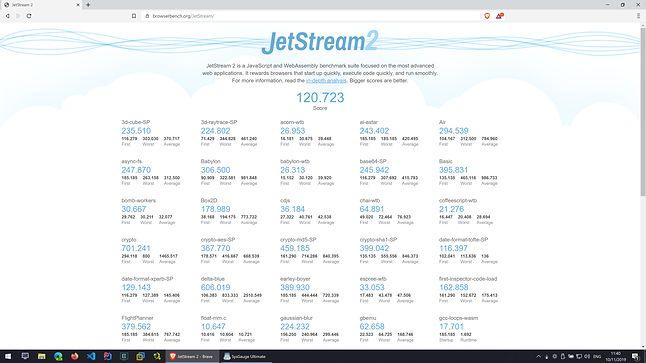 Brave - JetStrem2 - Wynik: 120.723