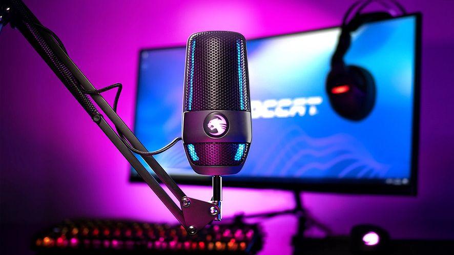 Pierwszy mikrofon od ROCCAT. Torch przeznaczony dla graczy i twórców