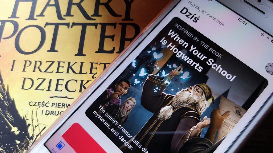 Harry Potter: Hogwarts Mystery na iPhonie.