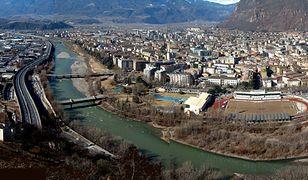 Bolzano jest pięknie położonym miastem włoskim u stóp Dolomitów