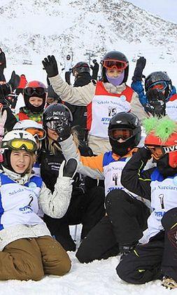 Dzieci na nartach, czyli Puchar Misia Stramusia