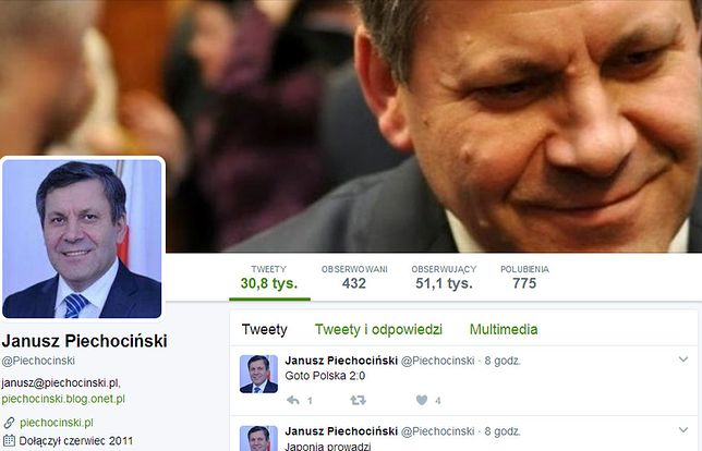 Kto jest nowym królem Twittera? Piechociński kontra Godson