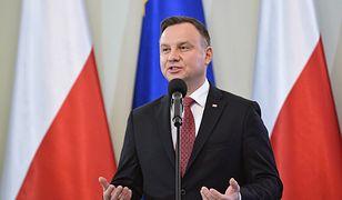 Andrzej Duda uważa, że sędziowie naruszyli prawo
