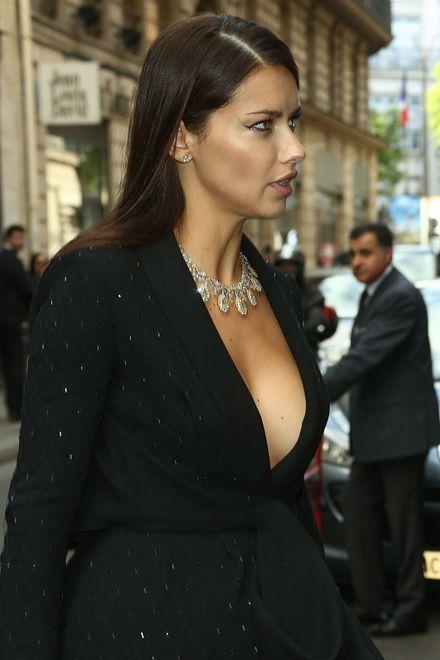 Modelka na Tygodniu Mody w Paryżu