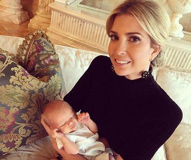 Ivanka Trump z rocznym synkiem.