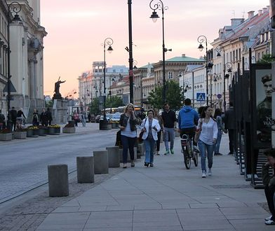 Zamykają Krakowskie Przedmieście!