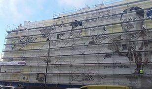 Nielegalna reklama czy wysmakowana grafika? Na Pradze powstaje ogromny mural