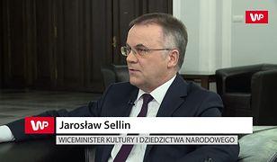 Jarosław Sellin o WOŚP. Drobna uszczypliwość