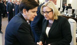 Beata Szydło i Beata Kempa