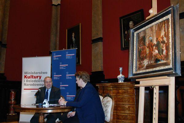 Zaginiony obraz wybitnego flamandzkiego malarza wrócił do Wrocławia