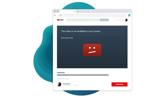 VPN pokonuje wirtualne granice i pozwala dotrzeć do teoretycznie niedostępnych w danym regionie materiałów, źródło: Surfshark.