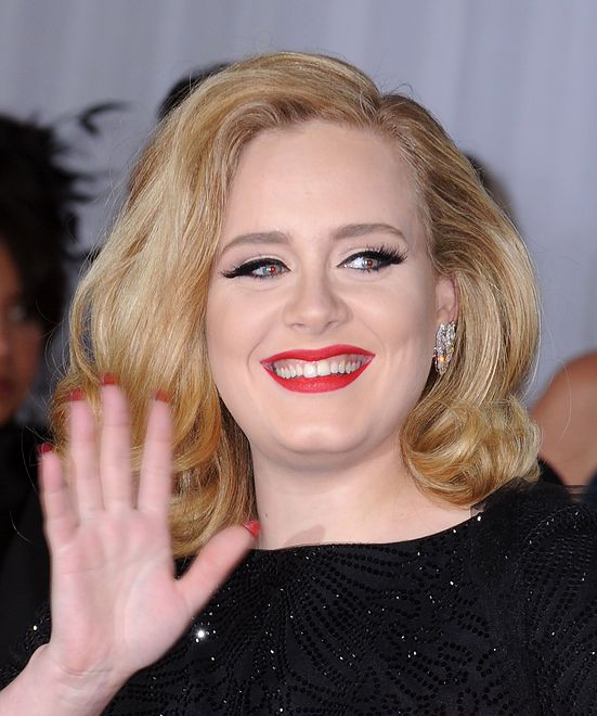February 12, 2012  Los Angeles, Ca.AdeleThe 54th Annual GRAMMY Awards held at Staples Center�� Tammie Arroyo / AFF-USA.COM