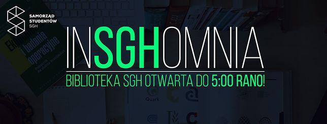 Do BUW-u dołącza SGH. Biblioteka czynna do 5 rano