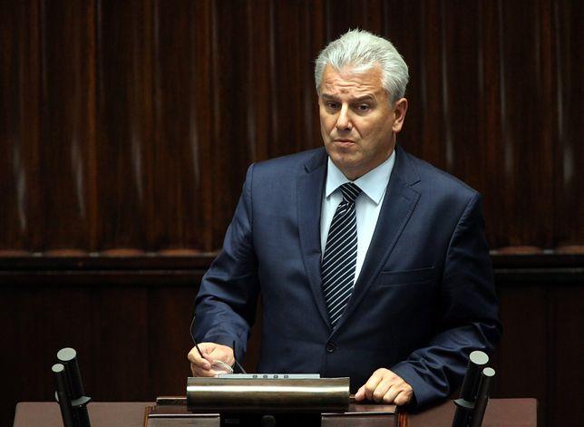Cezary Grabarczyk stawił się w prokuraturze