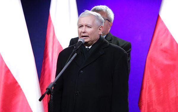 Prokuratura: Jarosław Kaczyński nie znieważył prezydenta i prezesów sądów